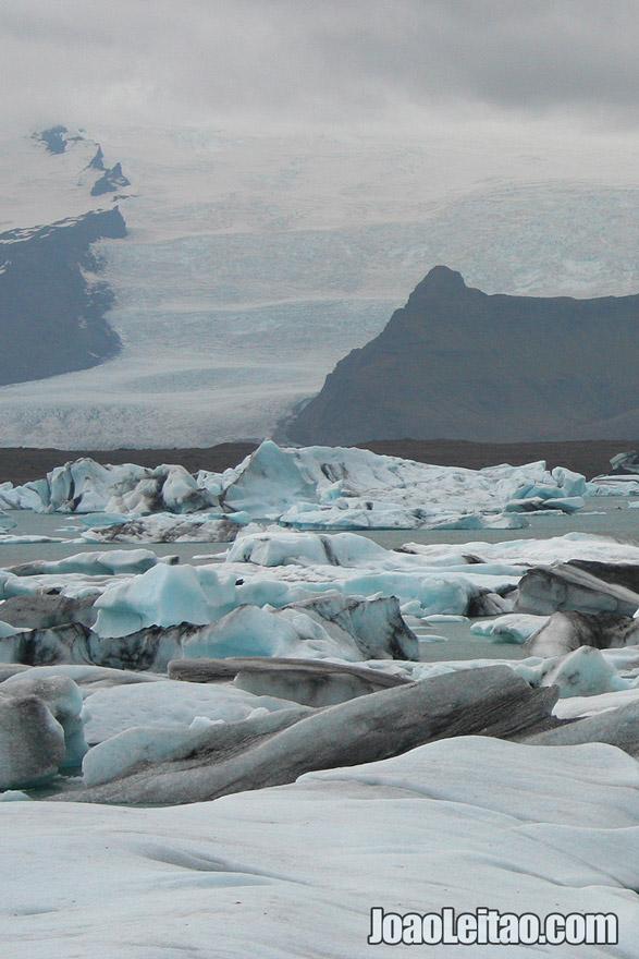 Breidamerkurjokull-Glacier