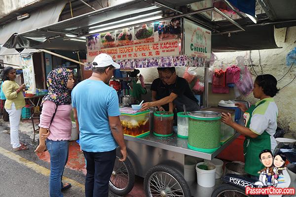 jalan penang cendol famous