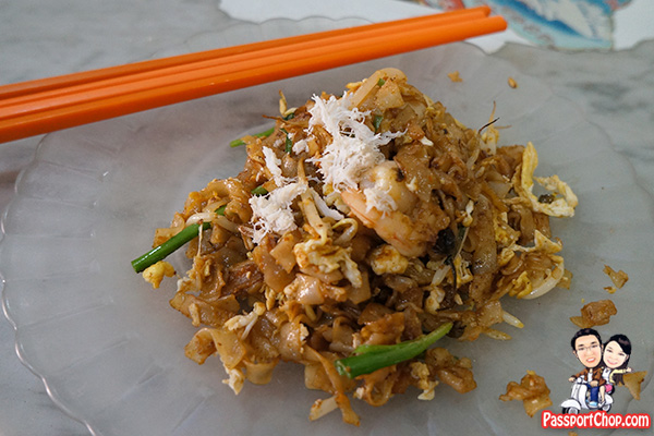 sisters char kway teow Jalan Macalister review