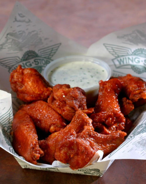 buffalo wings wingstop