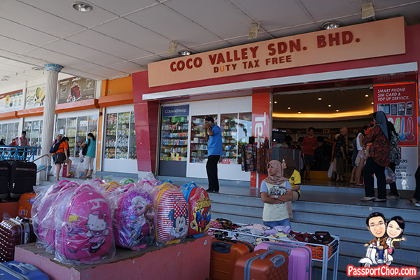 coco valley langkawi tax free shopping