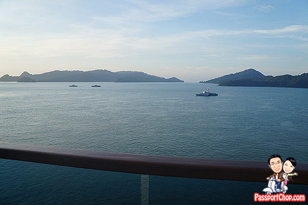 costa victoria cruise balcony view langkawi