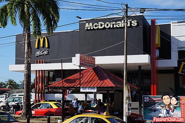 langkawi pantai cenang macdonalds free wifi