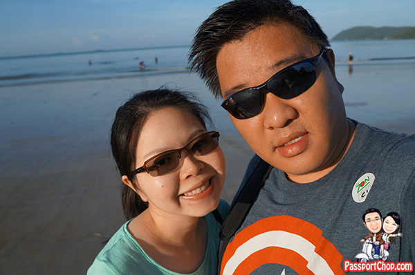 transitions lens langkawi selfie