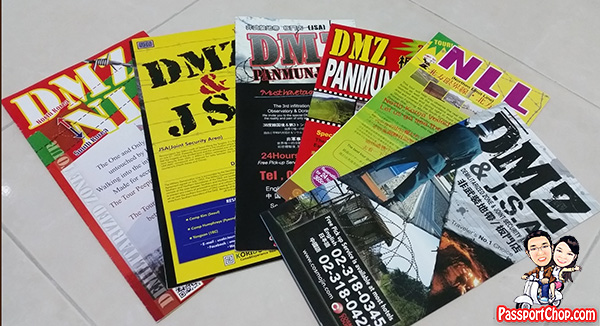 DMZ brochure tour agencies operators guide