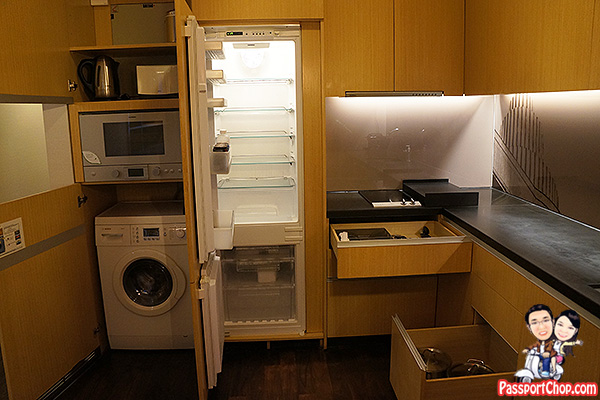 ascott raffles place finlayson suite kitchen well equipped washing machine
