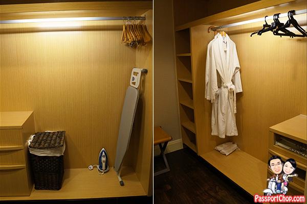 ascott raffles place finlayson suite wardrobe