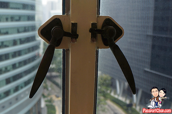 ascott raffles place heritage original window brass handles