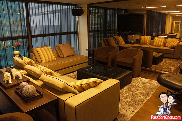 ascott raffles place living room cozy corner relax residents