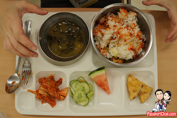 bibimbap dmz jsa tour lunch vegetarian seoul