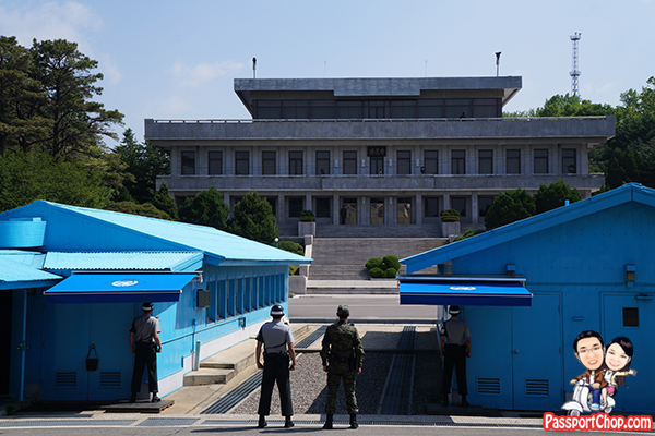 joint security area north south korea jsa dmz tour