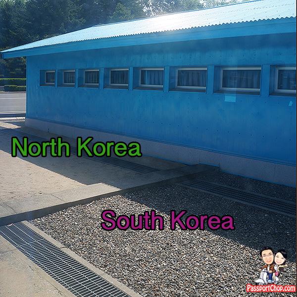 north south korea dividing line joint security area jsa dmz tour