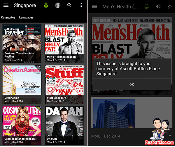 pressreader ascott raffles place staycation free magazines download