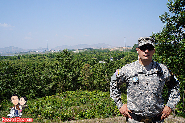us soldiers remote outpost dmz south korea
