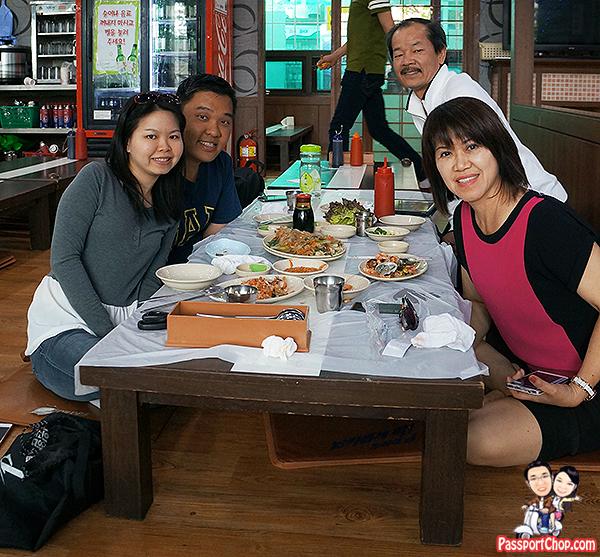 noryangjin fish market feast family seafood