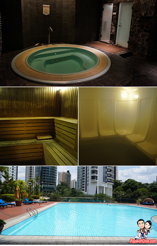 pan pacific orchard mineral water swimming pool jacuzzi sauna