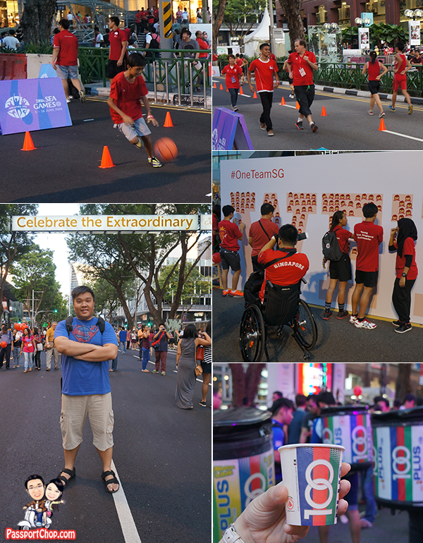 pedestrian night sea games sports orchard