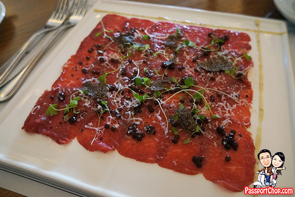 rangers valley wagyu carpaccio white rabbit singapore review
