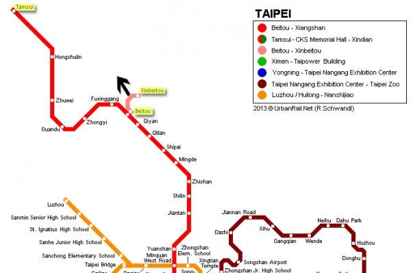 Taipei Metro Tamsui