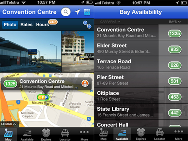 city of perth parking app cheap cbd parking