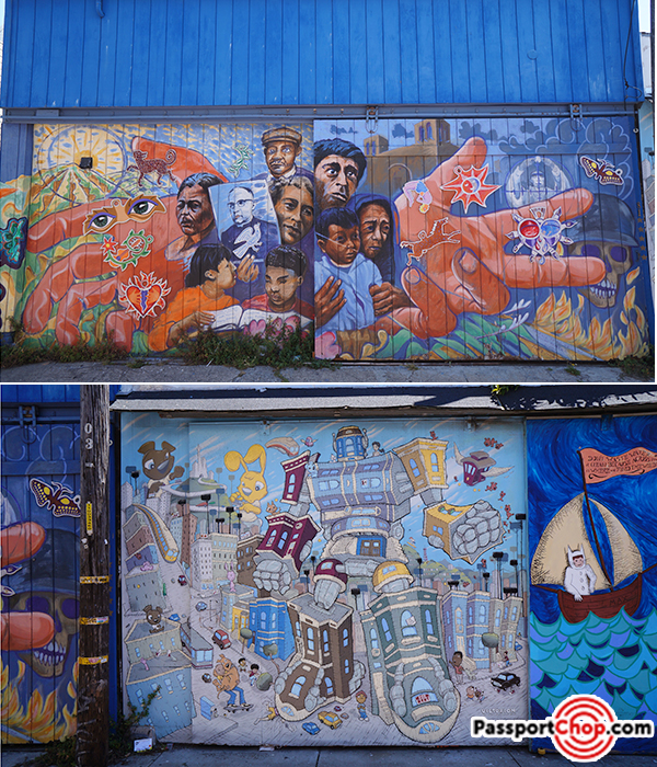 balmy alley mission district street murals san francisco