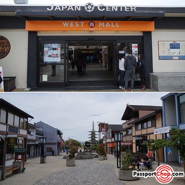 japan town japan center san francisco