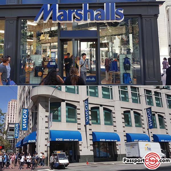 marshalls ross budget cheap shopping bargain market street san francisco