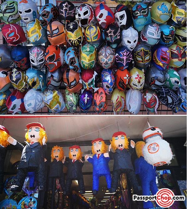 mexican pinatas wrestling masks mission district san francisco