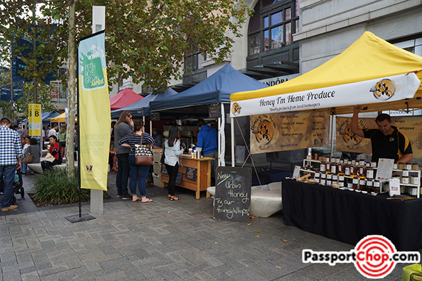 murray street sunday market street mall perth cbd