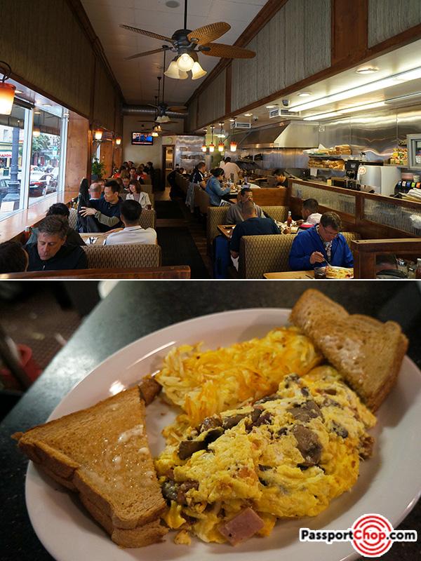 pinecrest diner omelette san francisco review