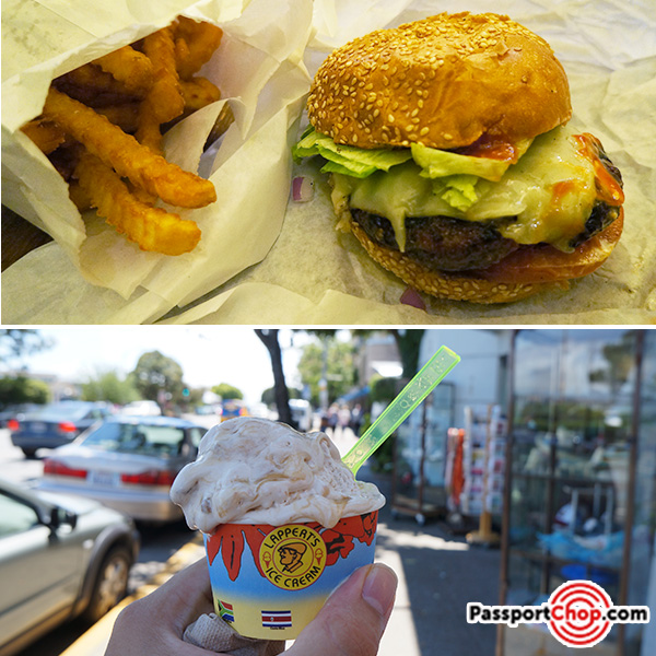 sausalito burger ice cream recommendations review