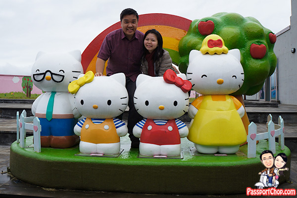 hello kitty island outdoor exhibition