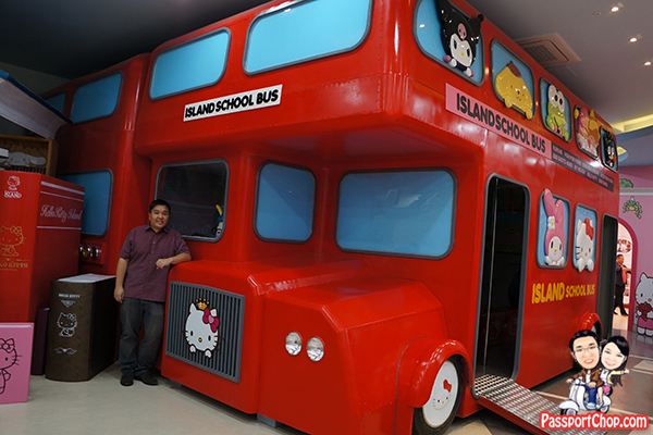 hello kitty island school bus