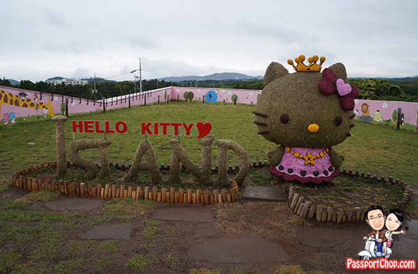 jeju hello kitty island top floor outdoor