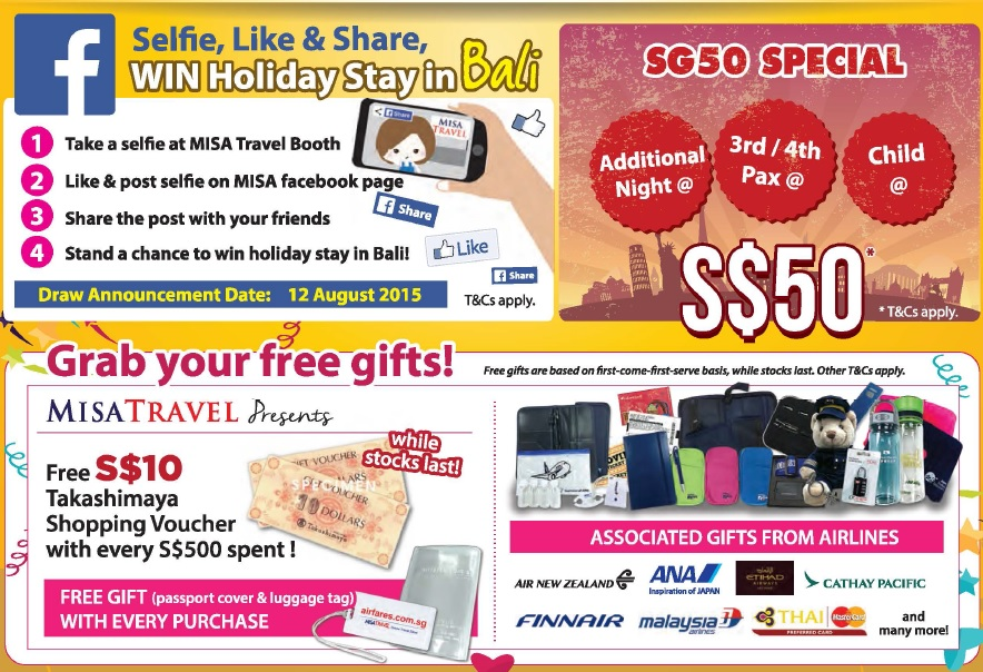 misa travel revolution natas promotions sg50
