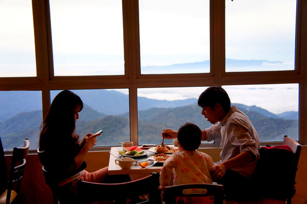 genting early morning view breakfast