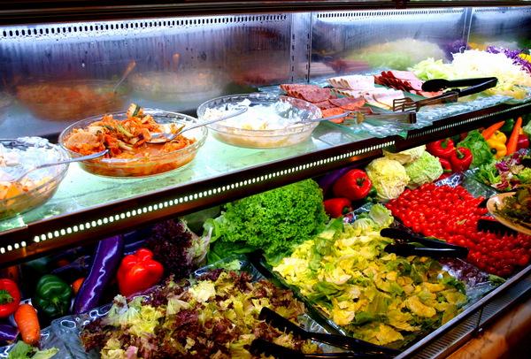 salad bar coffee terrace buffet
