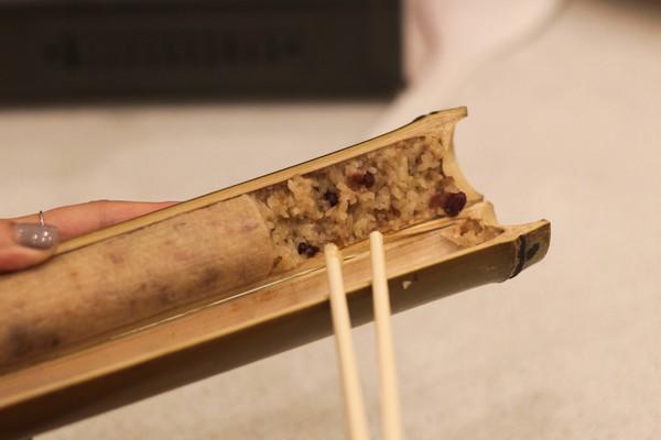 atayal cuisine bamboo rice