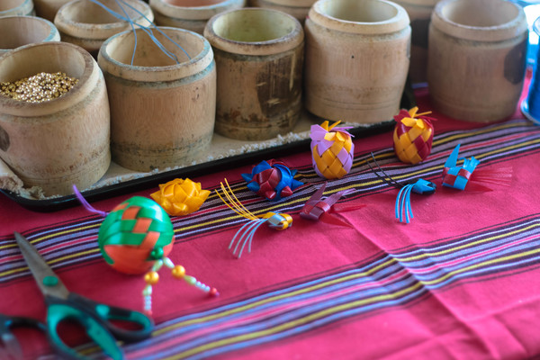 atayal culture tribe learn to weave