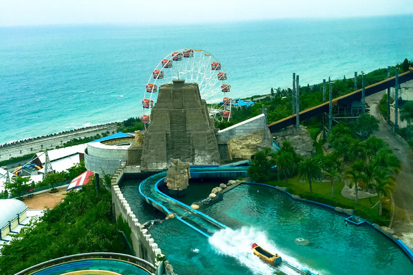 hualien ocean park eight zones water ride
