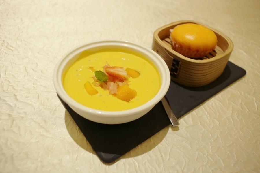 Wan Li Restaurant Mango Puree renaissance jb hotel