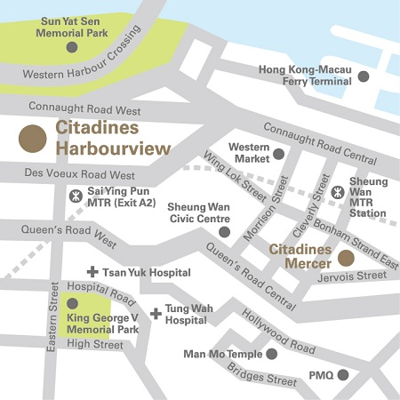 citadines-harbourview-hong-kong-location-map-sai-ying-pun