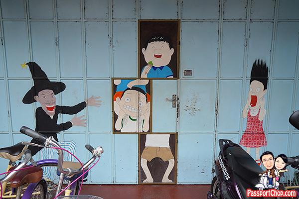 Armenian Street Penang Street Art Magician