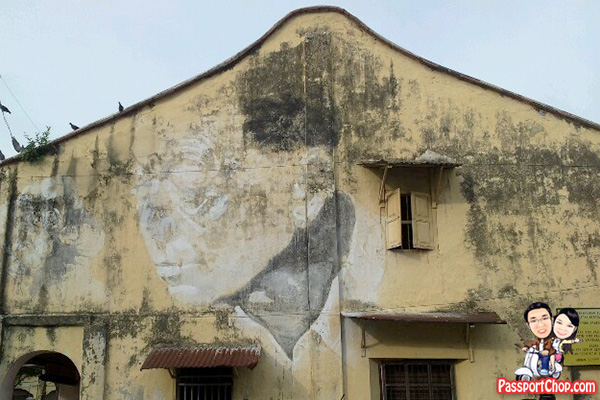 This Old Man Ernest Zacharevic Penang Street Art