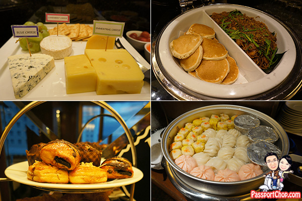 club lounge food breakfast hotel jen penang