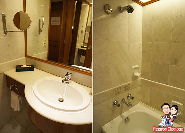 hotel jen penang club room bathroom toilet