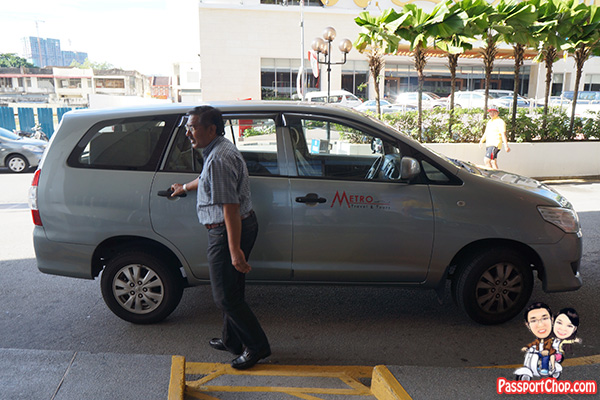 hotel jen penang complimentary 4 hour chauffeur service driver