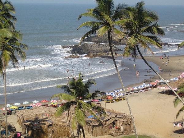 vagator-beach india