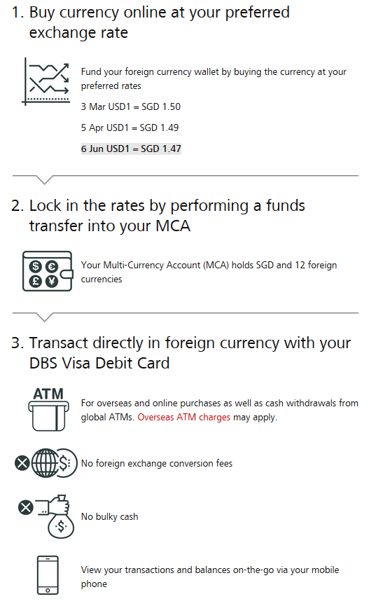 dbs mca step by step how to use guide