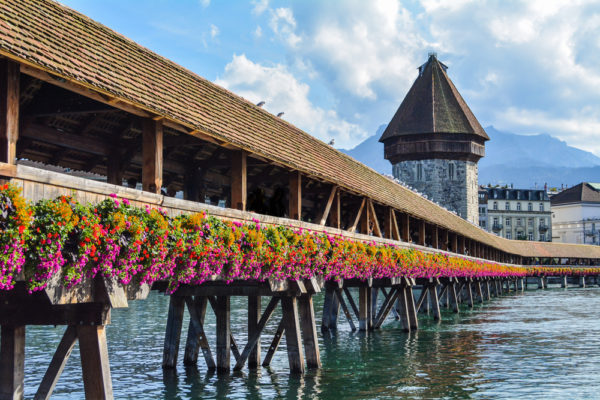 switzerland chapel bridge